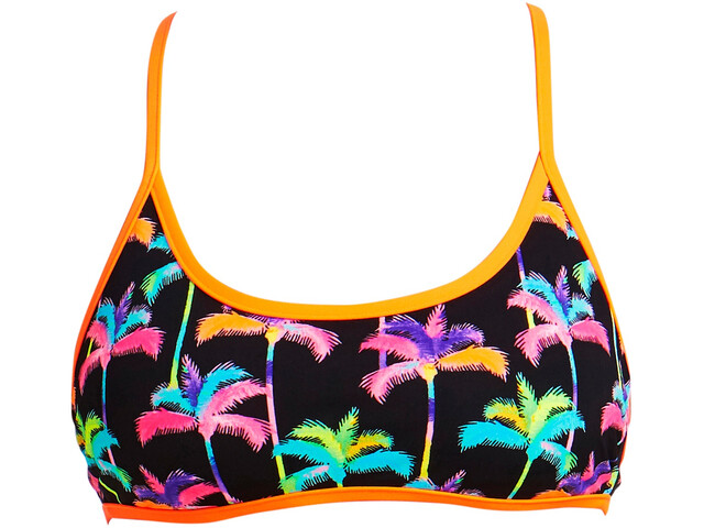 Funkita Tie Down Bikini Top Ladies Palm Drive